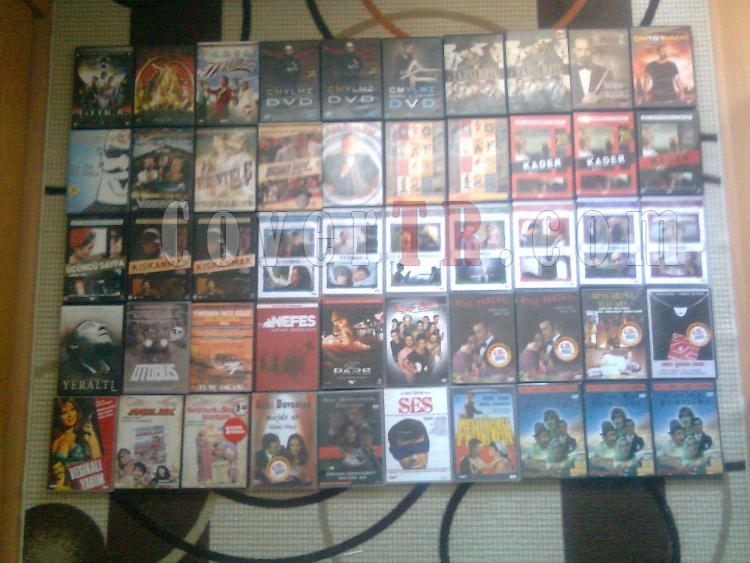 Orjinal Yerli Yabancı DVD Film Arşivim Toplu Satılık.-6jpg