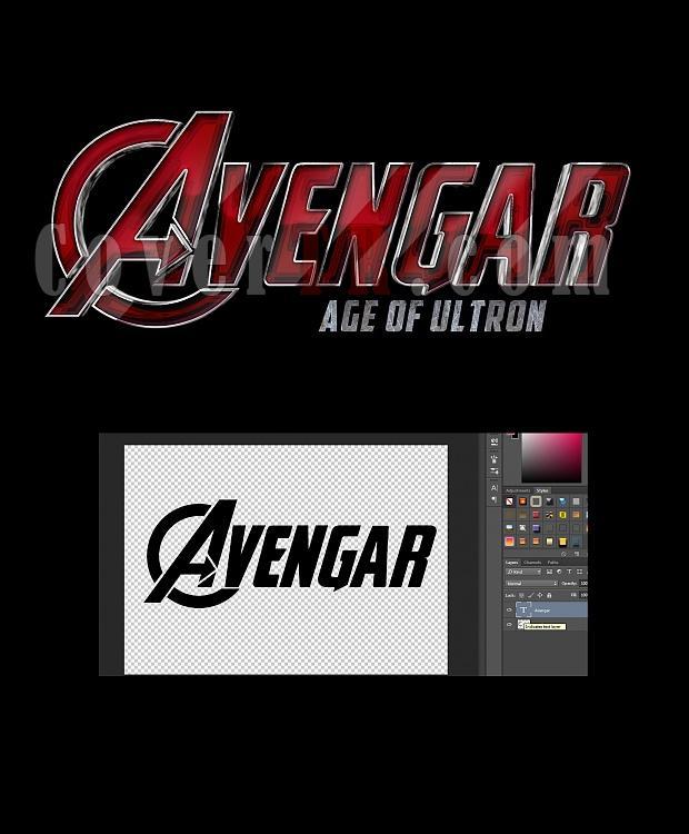 Avengers 2015 (Movie) Font-1456jpg