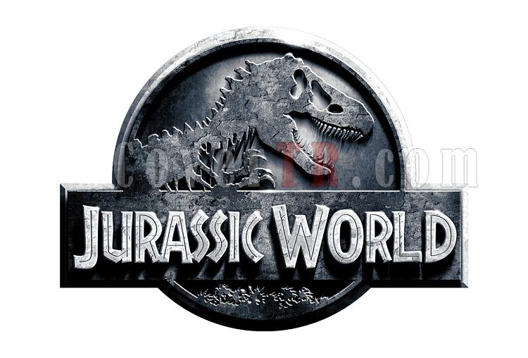 Jurassic World (movie) Font-logojpg