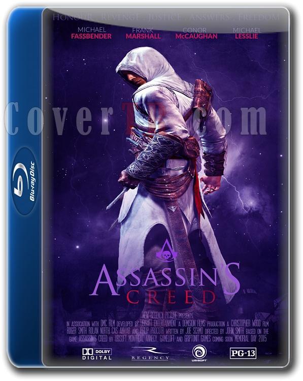 Assassin's Creed (2016) (Movie) Font-folderjpg