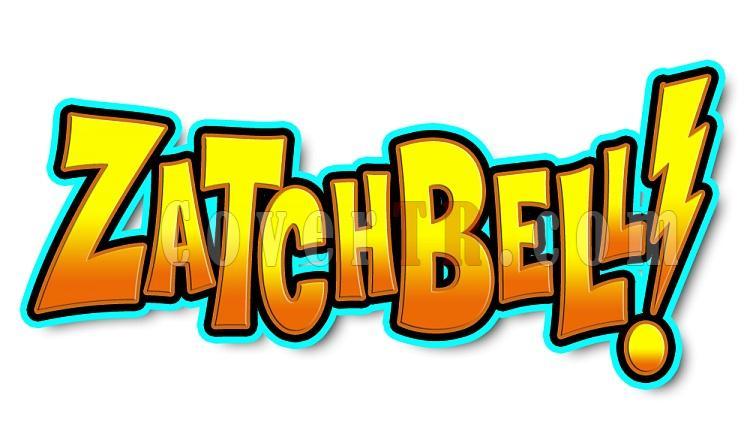 Zatch Bell Anime Font-318kzojpg