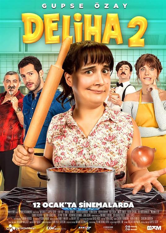 Deliha 2 (Movie) Font-deliha-2-afisjpg