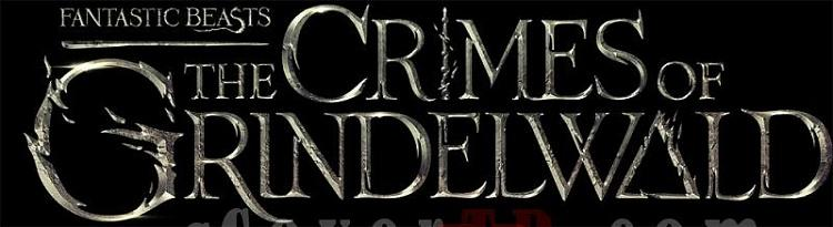Fantastic Beasts The Crimes of Grindelwald  (Movie) Font-02jpg
