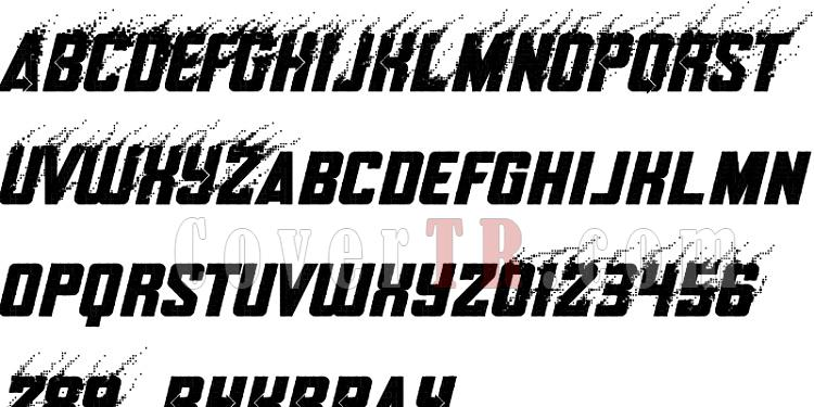 Avengers Deadpool Black Panther (Movie) Font-12-1jpg