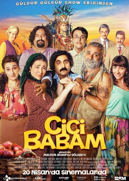 Cici BABAM (Movie) Font-cici-babam-afis-indirjpg