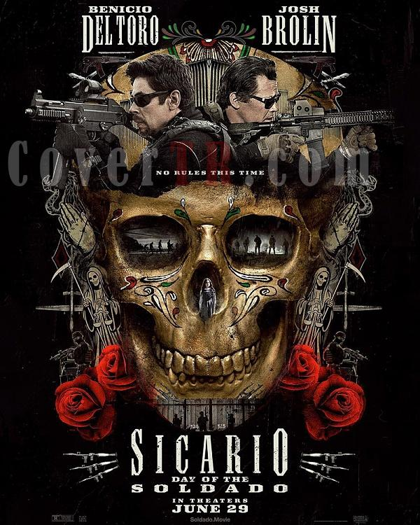 Sicario Day of the Soldado (Movie) Font-sicarioposterjpg