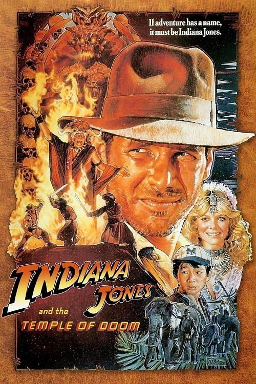 """Kamçılı adam """"Indiana Jones and the Temple of Doom"""" 1984-indiana-jones-temple-doom-movie-posterjpg"""