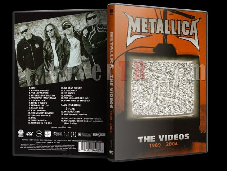 Metallica - The Videos 1989-2004 - Scan Dvd Cover - English [2006]-metallica_-_the_videos_1989-2004_r1jpg