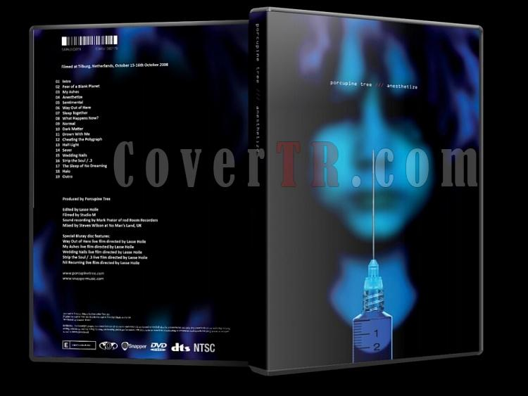 Porcupine Tree - Anesthetize  - Scan Dvd Cover - English [2010]-porcupine_capsjpg