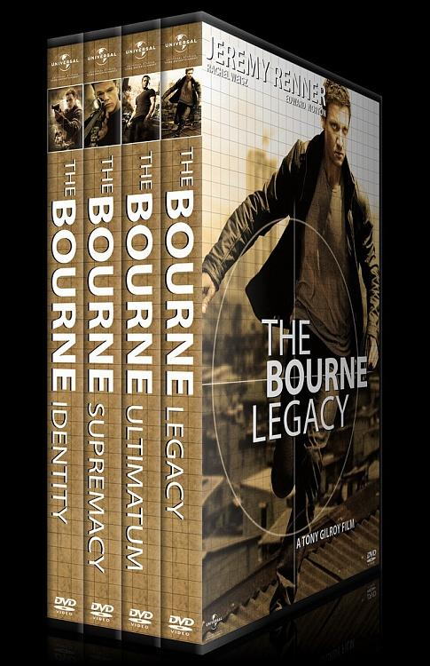 Cover &  Poster designs of the Jason Bourne Series-00jpg