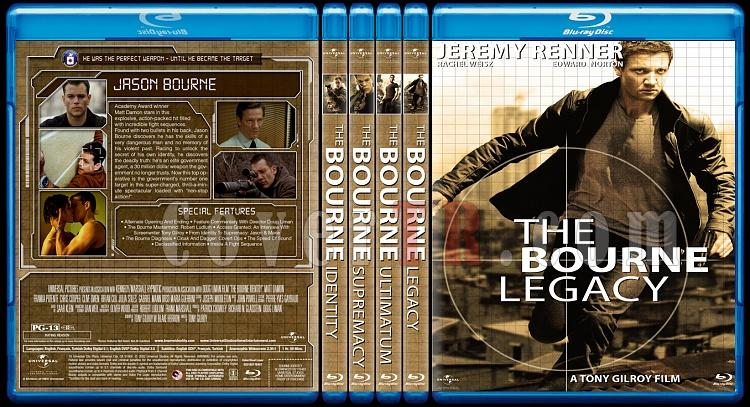 Cover &  Poster designs of the Jason Bourne Series-bdjpg