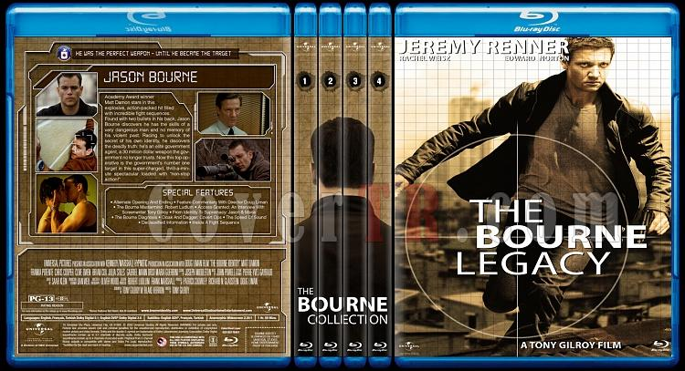 Cover &  Poster designs of the Jason Bourne Series-bd-spinejpg