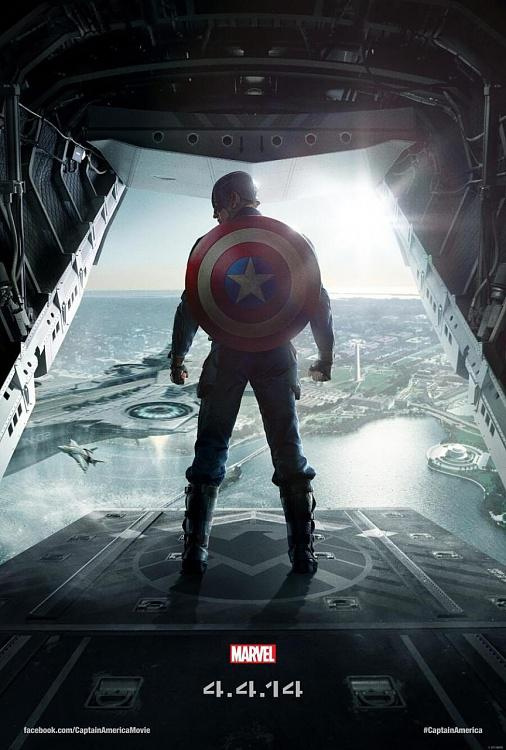 Captain America: The Winter Soldier İlk Fragman ve Poster-captain-america-winter-soldier-posterjpg