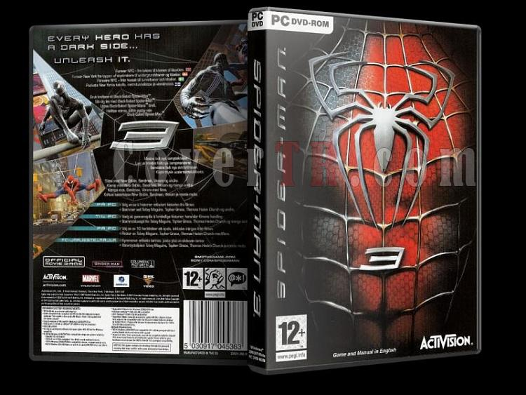 Spiderman 3 Dvd Cover - Pc-spiderman3jpg