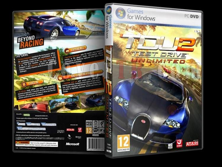 Test Drive Unlimited - Dvd Cover - Pc-testdriveunlimitedjpg
