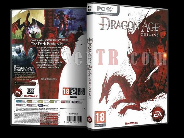 Dragon Age Origins Dvd Cover - PC-dragonageoriginsjpg