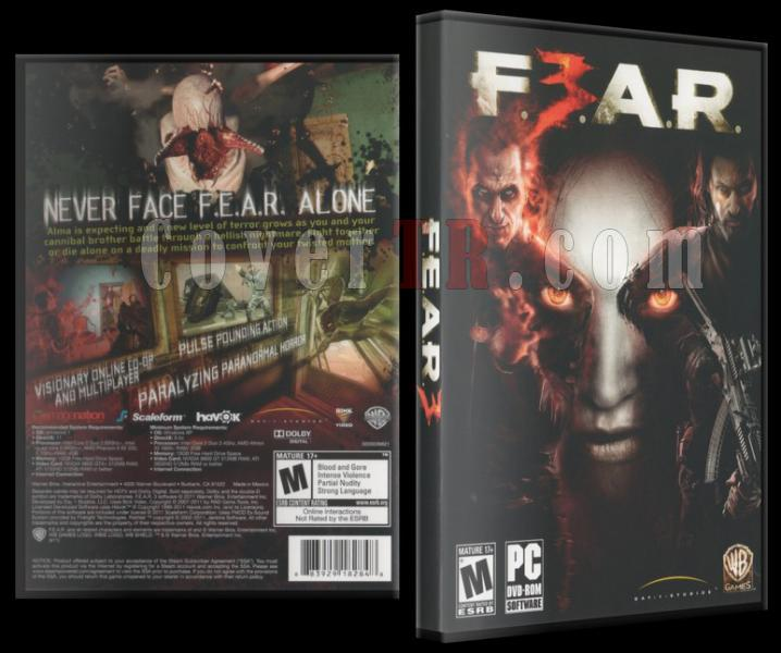 Fear 3 Dvd Cover - PC-fear3jpg