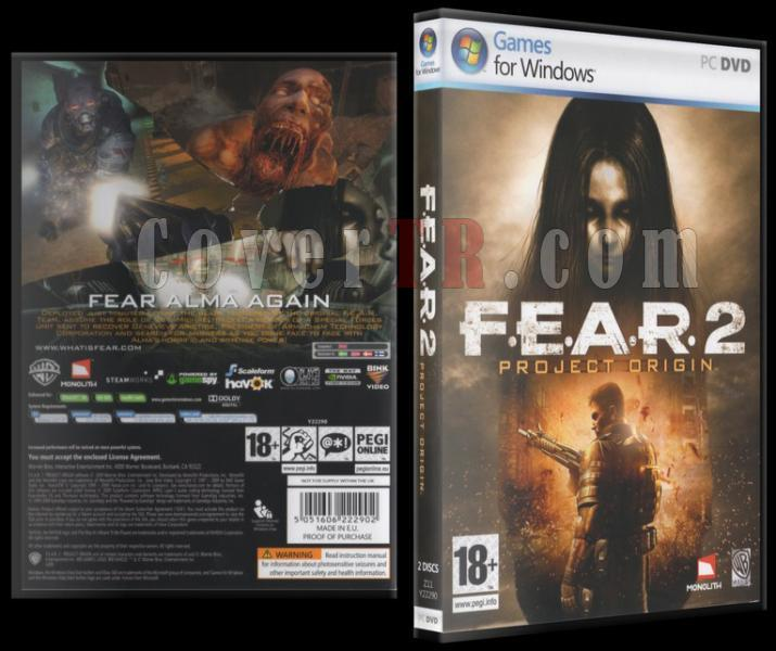 Fear 2 Project Origin Dvd Cover - Pc-fear2jpg