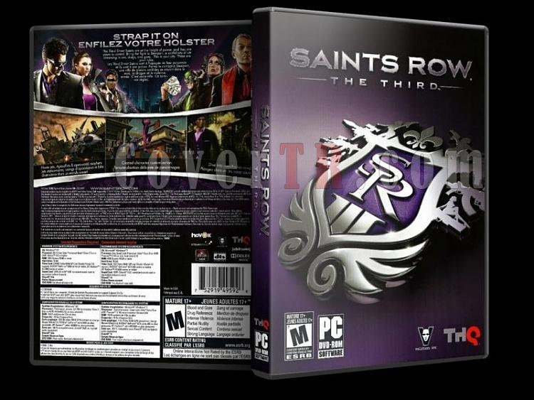Saints Row The Third - Pc Dvd Cover - English [2011]-saintsrowthethirdjpg