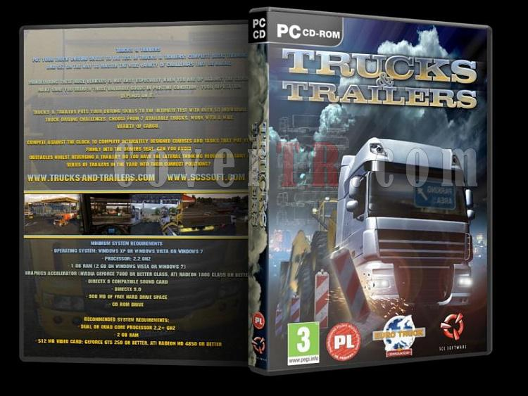 Trucks & Trailers - DVD Cover-trjpg