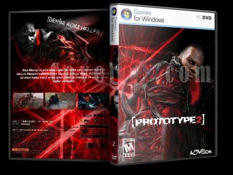 Prototype -  Custom PC Cover Set - Türkçe-p2jpg