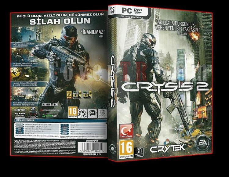 Crysis 2 - Türkçe  - Pc Dvd Cover-ajpg