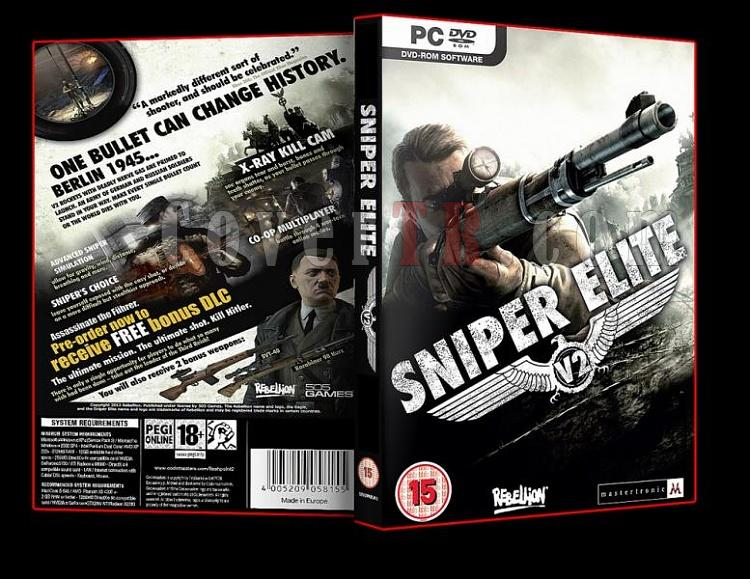 Sniper Elite V2 - Pc Dvd Cover-ajpg