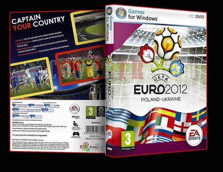 UEFA Euro 2012 - Pc Dvd Cover-ajpg