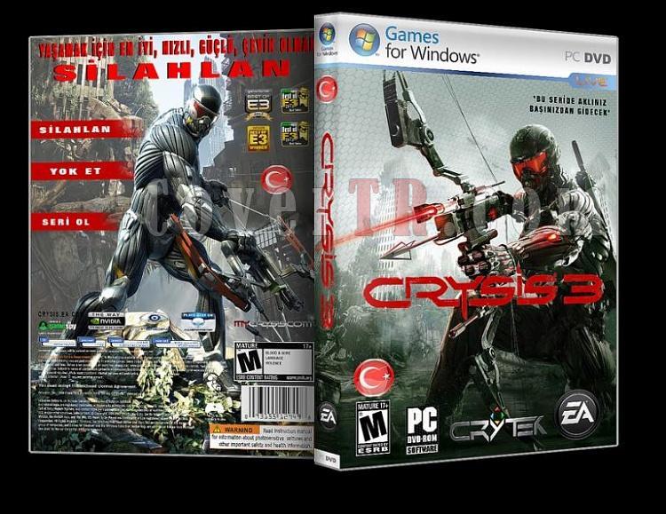 Crysis 3 - Pc Dvd Cover - Türkçe-ajpg