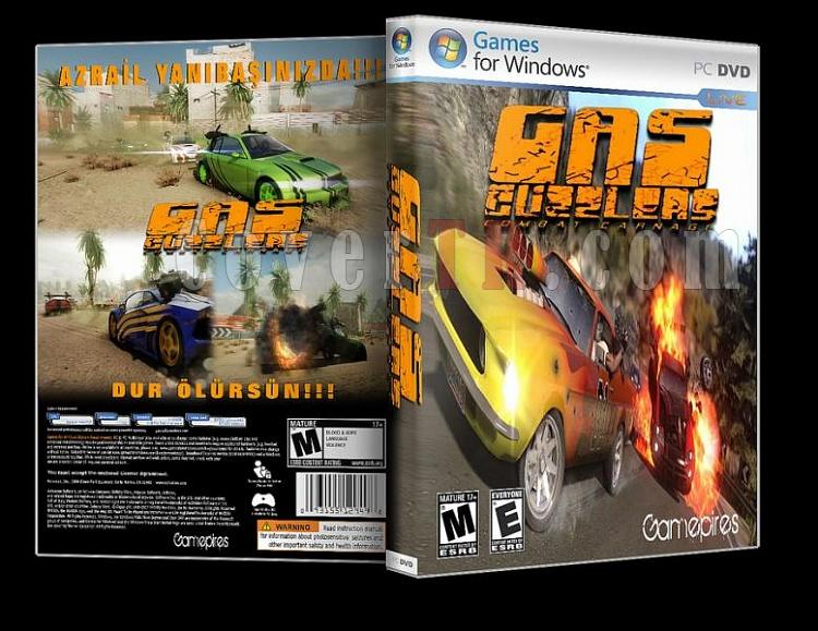 Gas Guzzlers - Combat Carnag - Pc Dvd Cover-ajpg