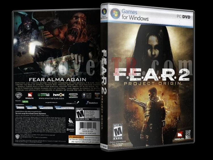 F.E.A.R. 2 - PC - Scan Dvd Cover - English-9jpg