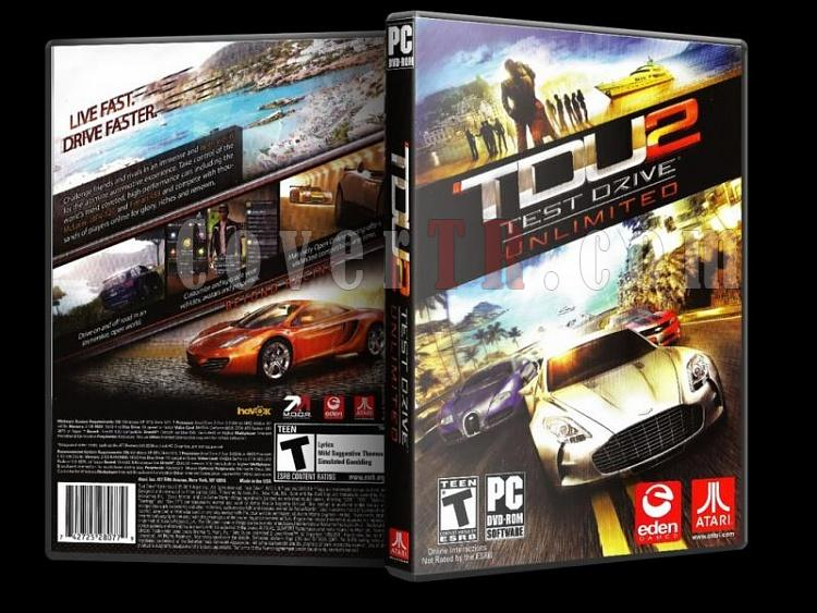 Test Drive Unlimited - PC - Scan Dvd Cover - English-10jpg