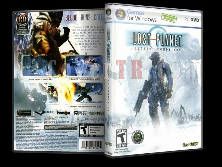 Lost Planet Extreme Condition - PC - Scan Dvd Cover - English-14jpg