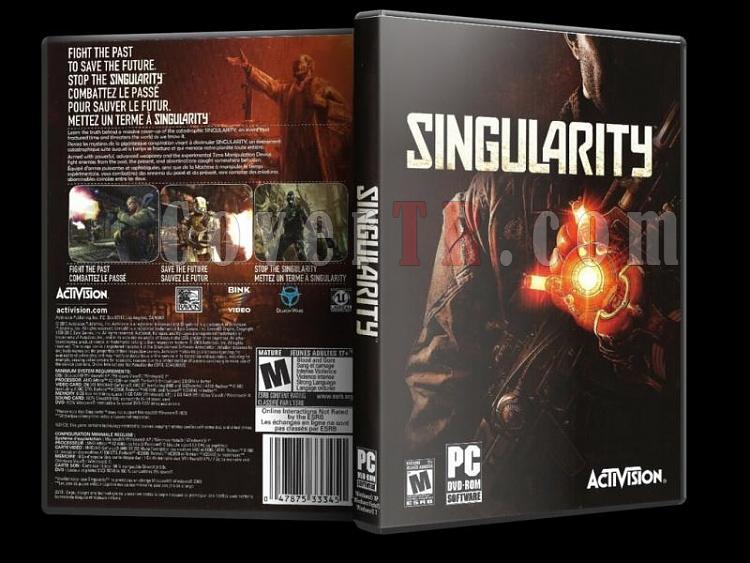 Singularity - PC - Scan Dvd Cover - English-13jpg