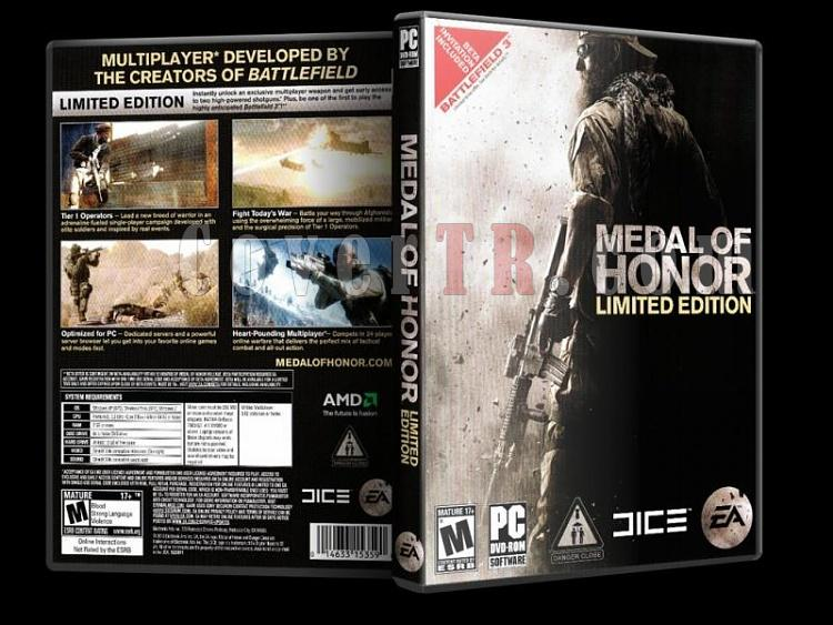 Medal of Honor Limited Edition - PC - Scan Dvd Cover - English-7jpg