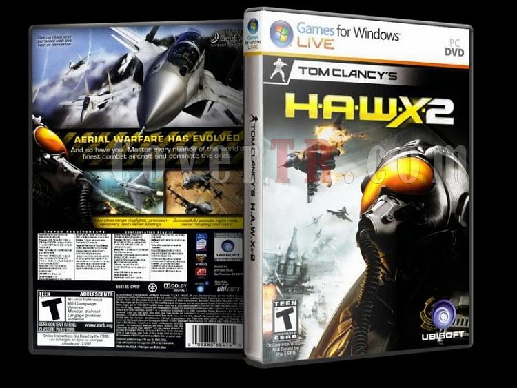 H.A.W.X. 2 - PC - Scan Dvd Cover - English-8jpg