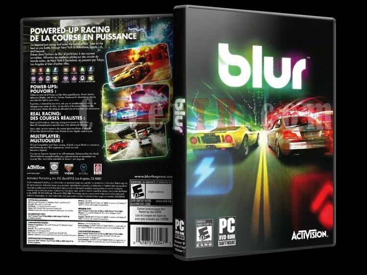 Blur - PC - Scan Dvd Cover - English-2jpg