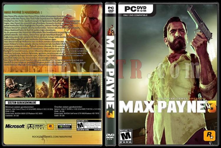 Max Payne 3 - Custom PC Cover - Türkçe [2012]-max-payne-3jpg
