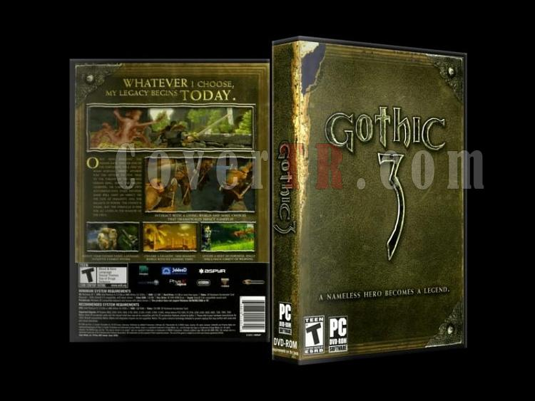 Gothic 3 - Scan PC Cover (27mm) - English [2006]-gothic_3-scan-pc-cover-27mm-english-2006jpg