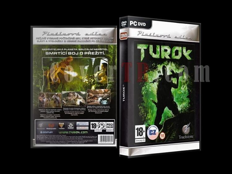 Turok - Scan PC Cover - Czech [2008]-turok_-scan-pc-cover-czech-2008jpg