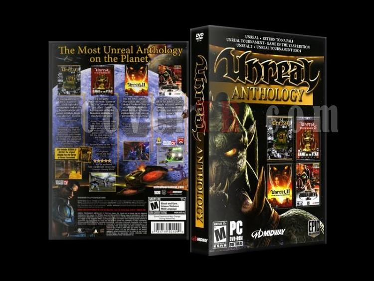 Unreal Anthology - Custom PC Cover (27mm) - English [2006]-unreal_anthology-custom-pc-cover-27mm-english-2006jpg