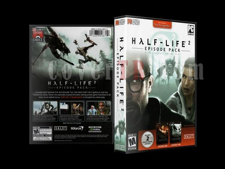 Half Life 2 Episode Pack - Scan PC Cover (27mm) - English [2008]-half_life-2-episode-pack-scan-pc-cover-27mm-english-2008jpg