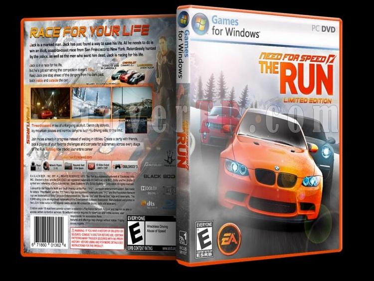 Need For Speed The Run - Custom PC Cover - English [2011]-need_for-speed-run-custom-pc-cover-english-2011jpg