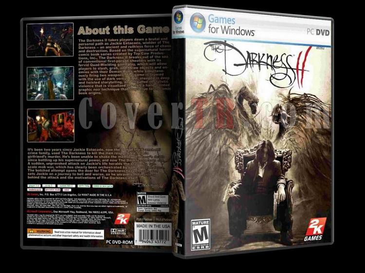 The Darkness II - Custom PC Cover - English [2012]-the_darkness-ii-custom-pc-cover-english-2012jpg