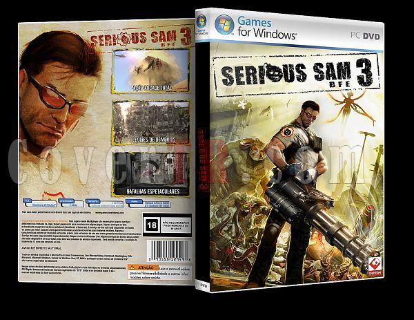 Serious Sam 3 - Custom PC Cover - English [2012]-ajpg