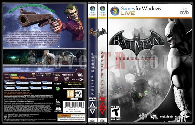 Batman Game Collection - Custom PC Cover Set - Türkçe-standard-2-season-flatjpg