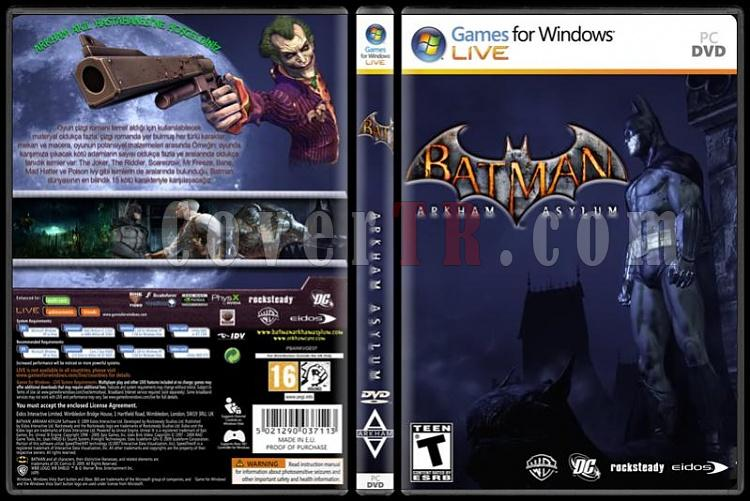 Batman Game Collection - Custom PC Cover Set - Türkçe-standardjpg