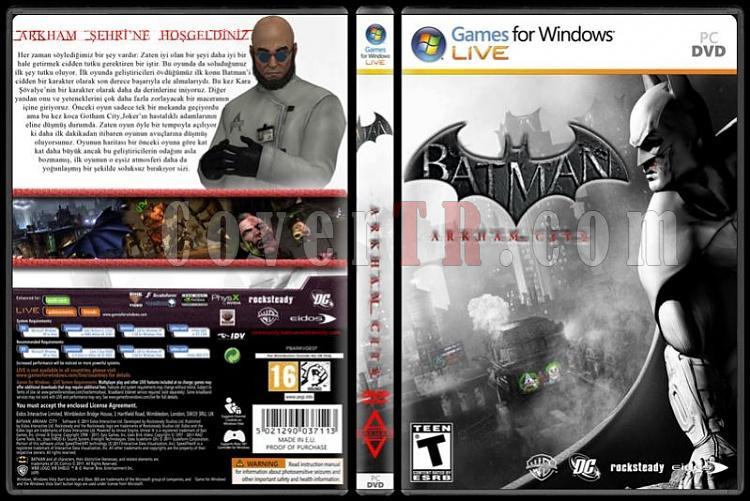 Batman Game Collection - Custom PC Cover Set - Türkçe-standard2jpg
