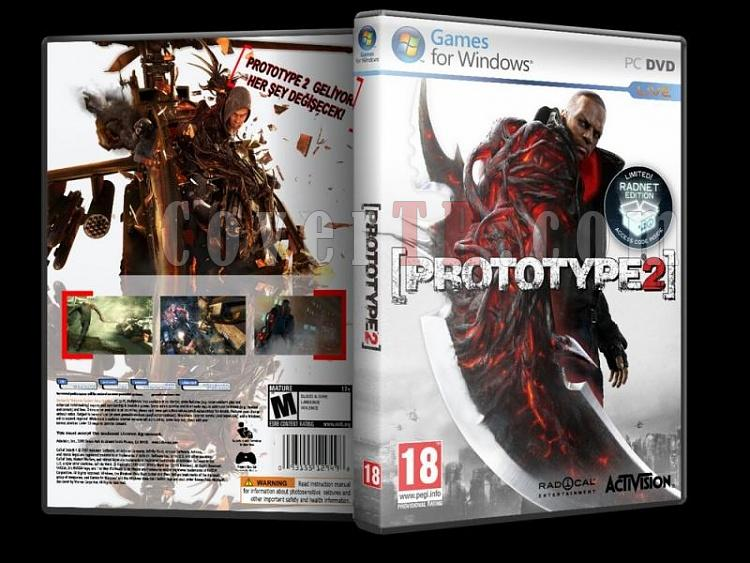 Prototype 2 - Custom PC Dvd Cover - Türkçe [2012]-p2-pc-trjpg