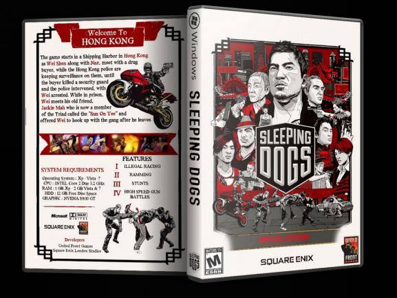 Sleeping Dogs - Custom PC Cover - English [2012]-slepingdogsjpg